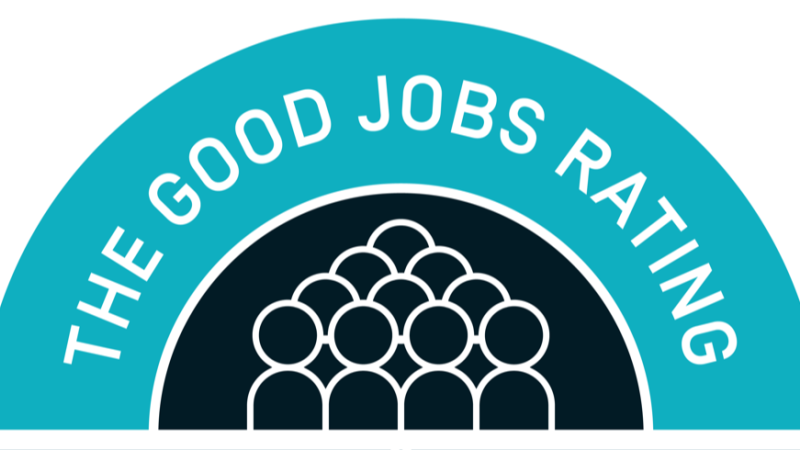 The Good Jobs Rating Roundel RGB